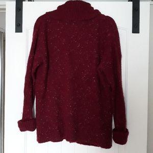 Cozy oversized cowl neck sweater